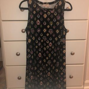 LOFT patterned Dress